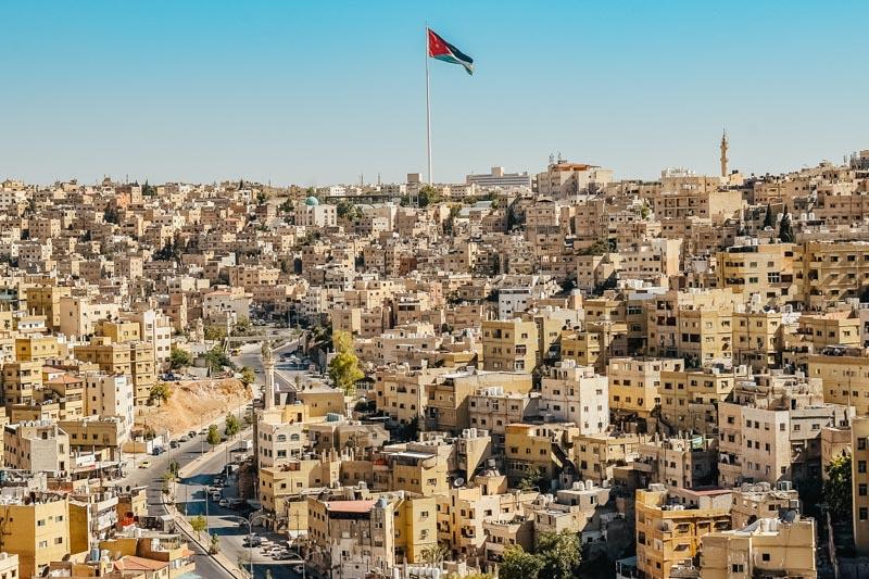 Amã: a capital da Jordânia