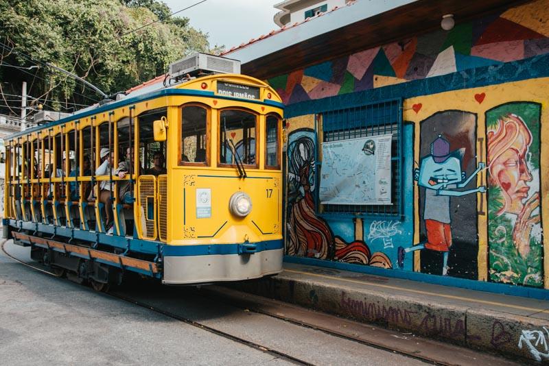 Bonde de Santa Teresa Rio de Janeiro