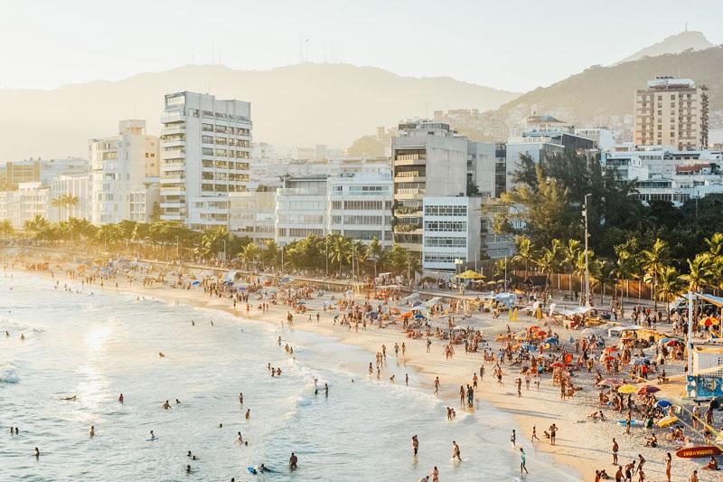 férias na praia de ipanema