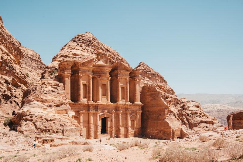 monasterio petra jordania