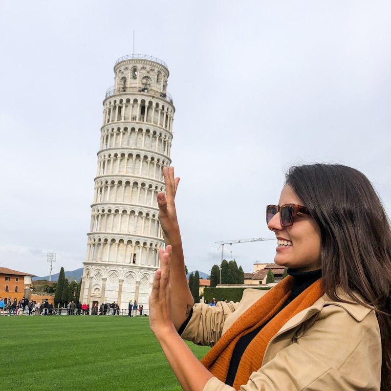 o que fazer na Toscana Torre de Pisa