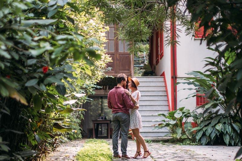 Laranjeiras e Cosme Velho: hotéis próximos da natureza.