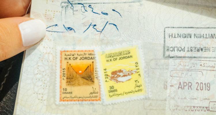 visto jordania