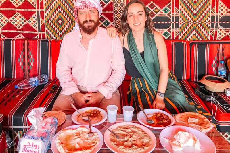 acampamento wadi rum