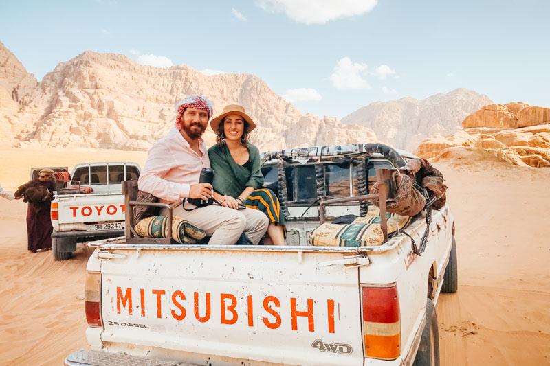 Tour pelo deserto de Wadi Rum