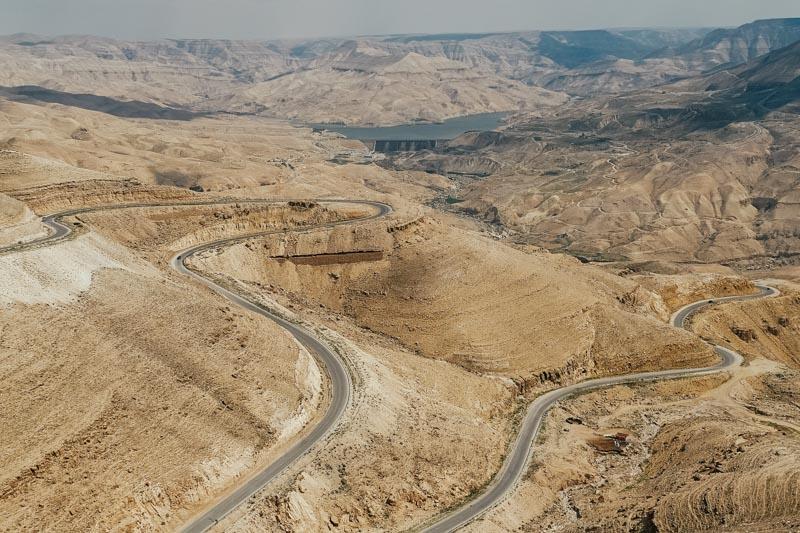 estradas da Jordânia