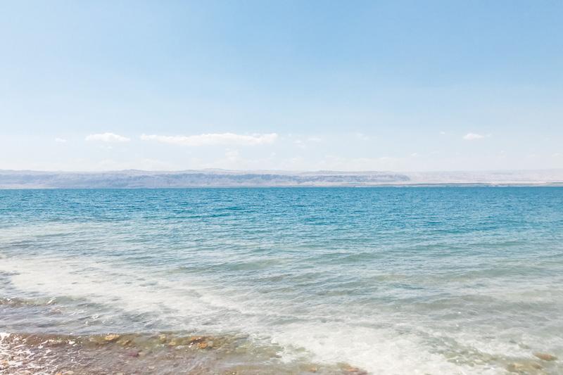 Onde fica o Mar Morto