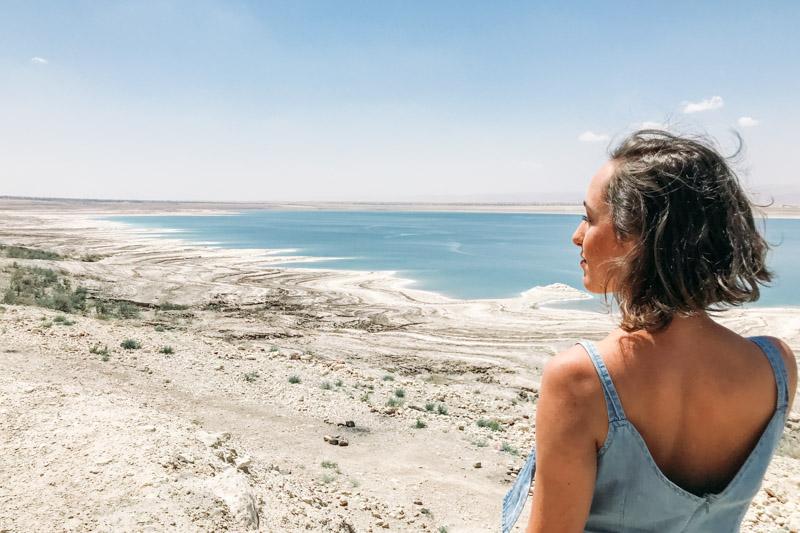 visual Mar Morto Jordânia