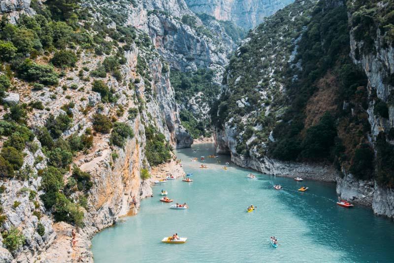 Gorges du Verdon, sul da França