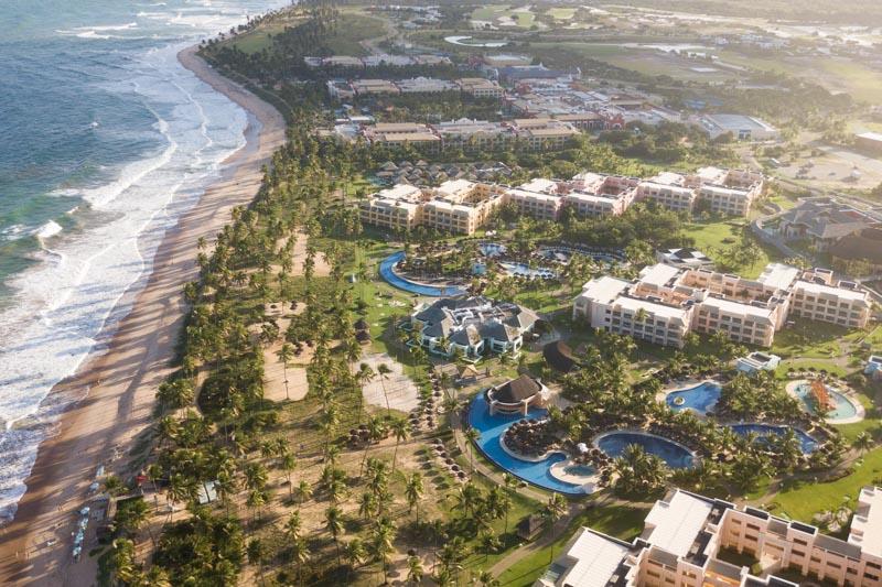 foto aérea iberostar selection praia do forte