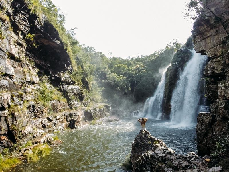 Cachoeira Almécegas Chapada dos Veadeiros