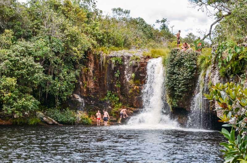 cachoeira sao bento chapada dos veadeiros