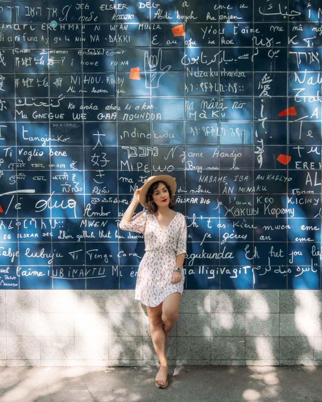 Muro Je t'aime Paris