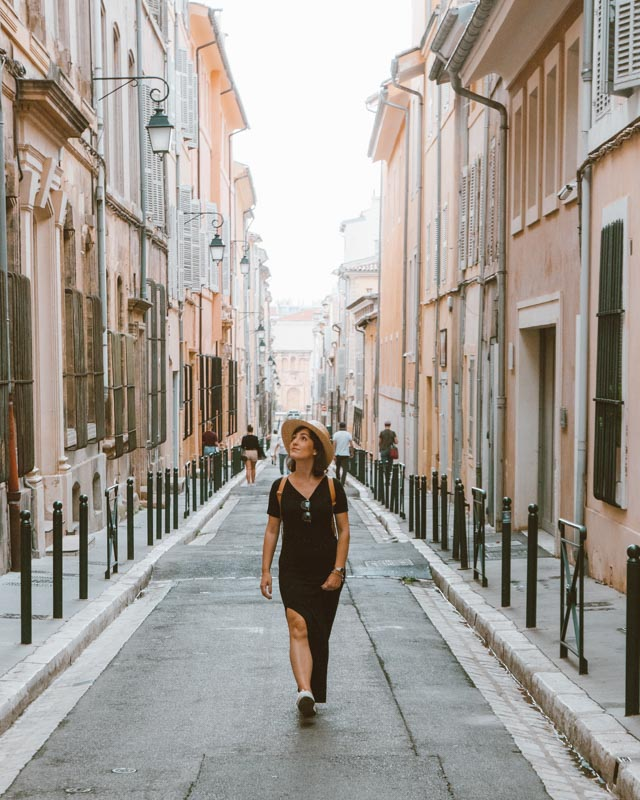 centro de Aix en Provence