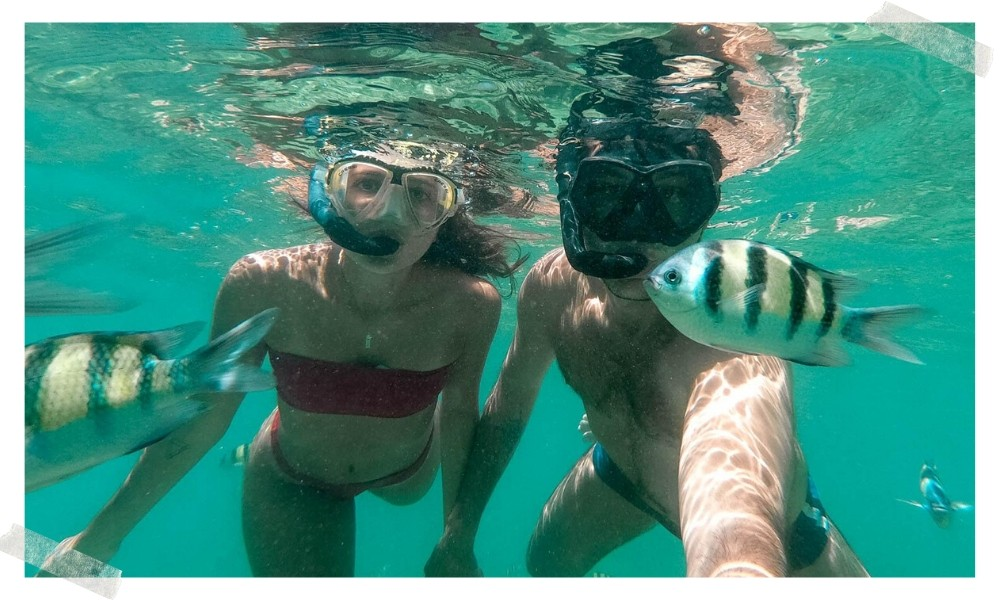 destinos para mergulhadores