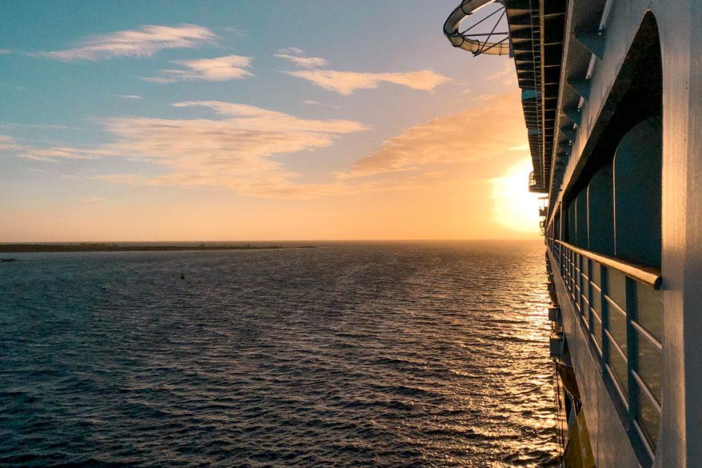 pôr do sol cruzeiro
