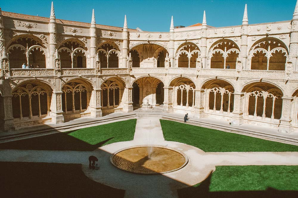 lisboa no inverno mosteiro dos jeronimos