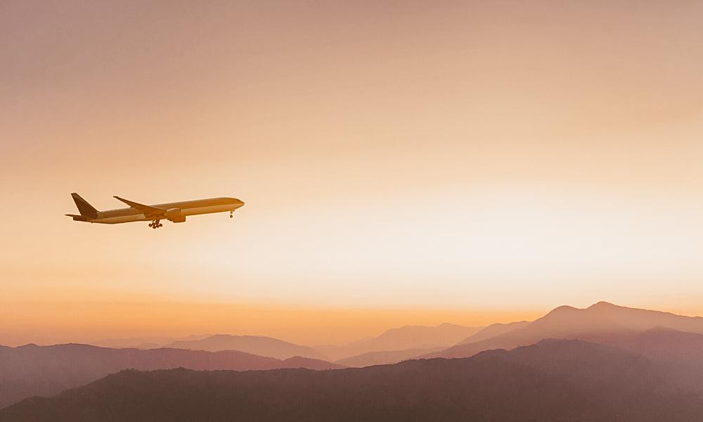 lugares para viajar na páscoa avião