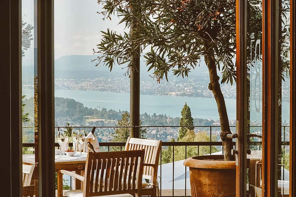 one ficar em Zurique com vista para o lago
