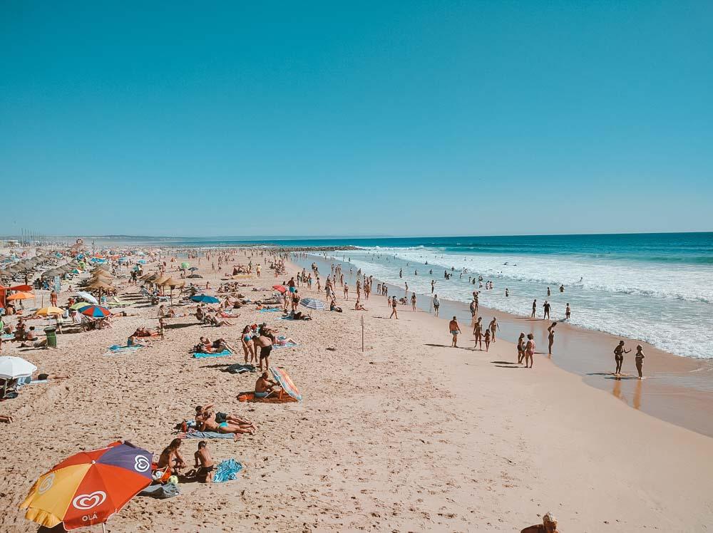 praias de portugal costa da caparica
