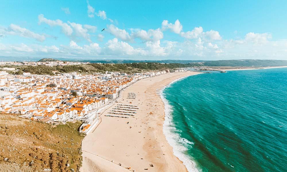 praias de portugal nazaré