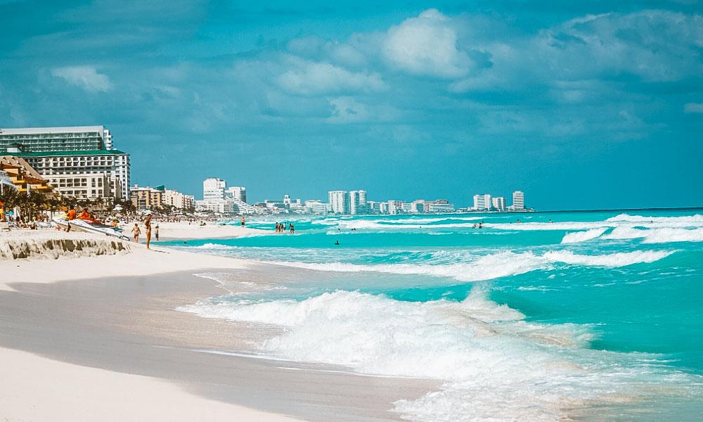 roteiro cancun mar