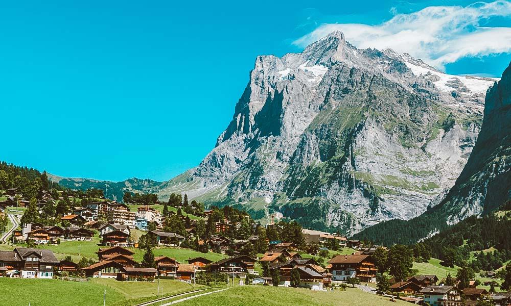 Grindelwald, na Suíça