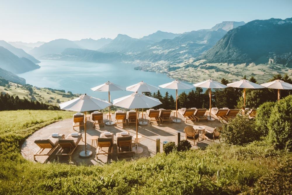 hotel villa honegg suiça