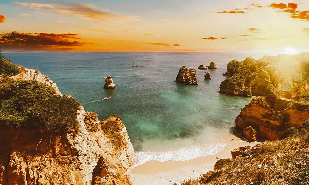 Algarve em Portugal: Roteiros para 3, 5 e 7 dias nas praias mais bonitas de Portugal