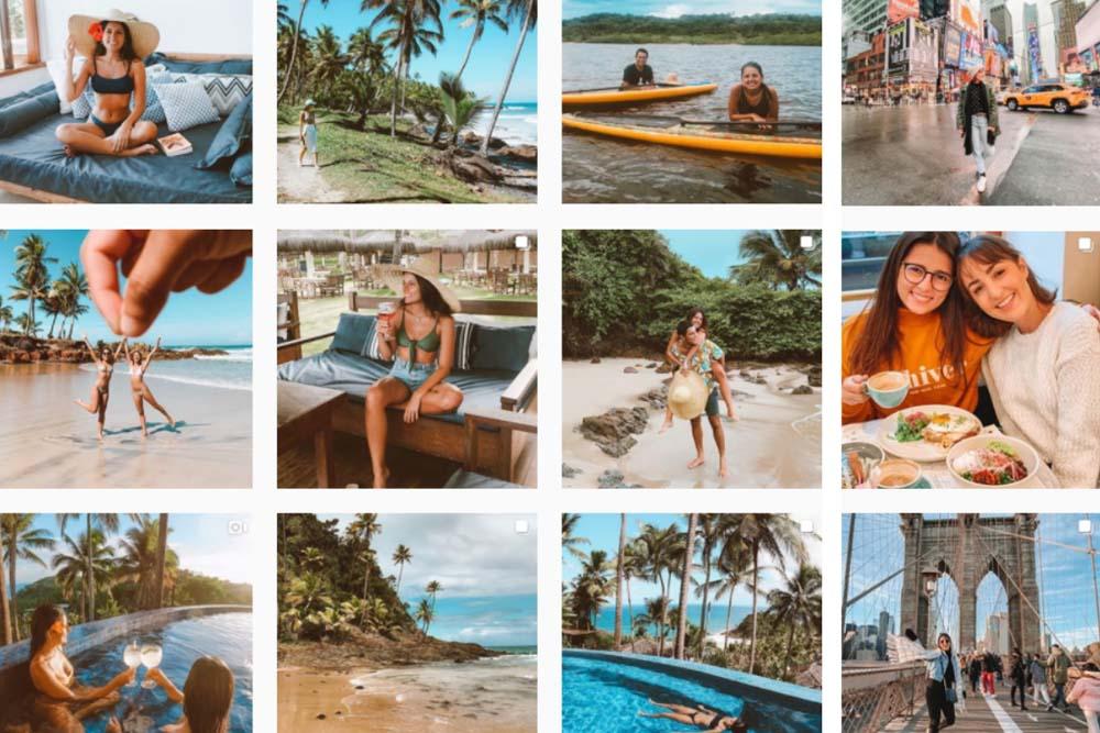 quarentena instagram de viagem