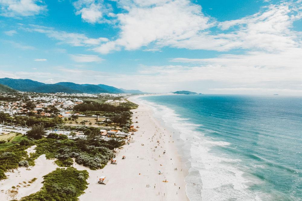 Praia do Campeche, Floripa