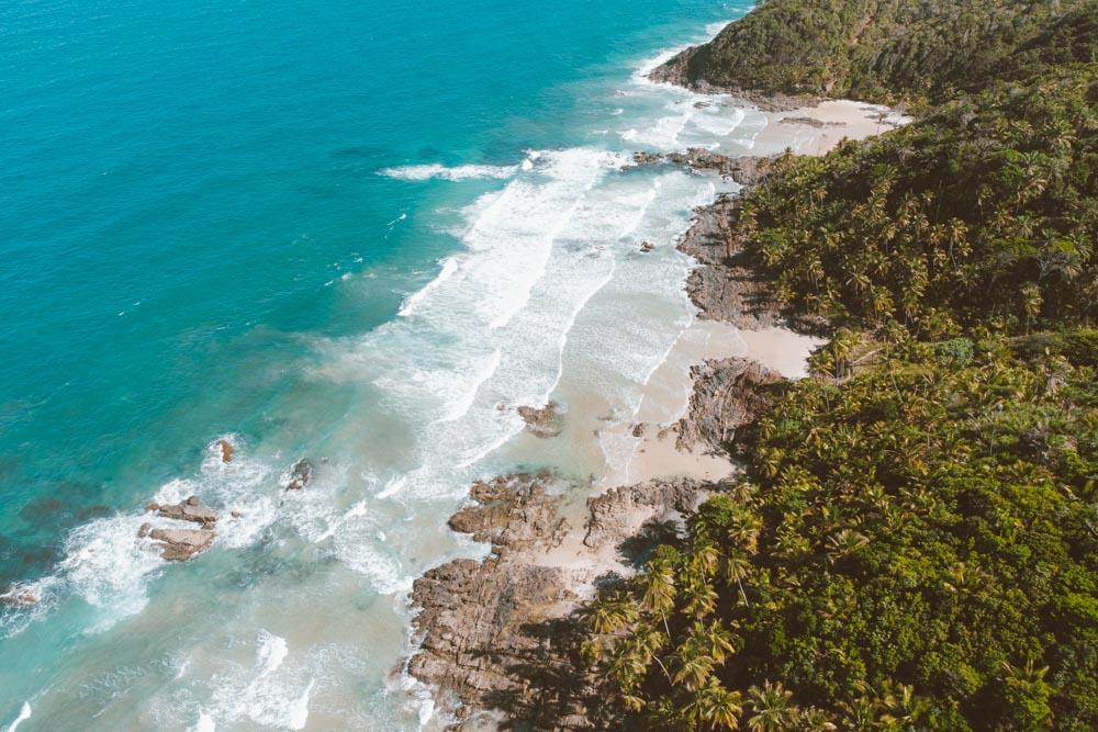 trilha das quatro praias