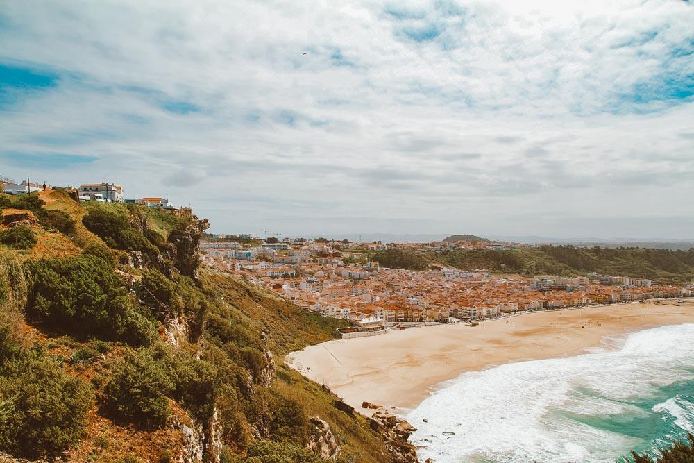 viagem de carro em portugal nazaré