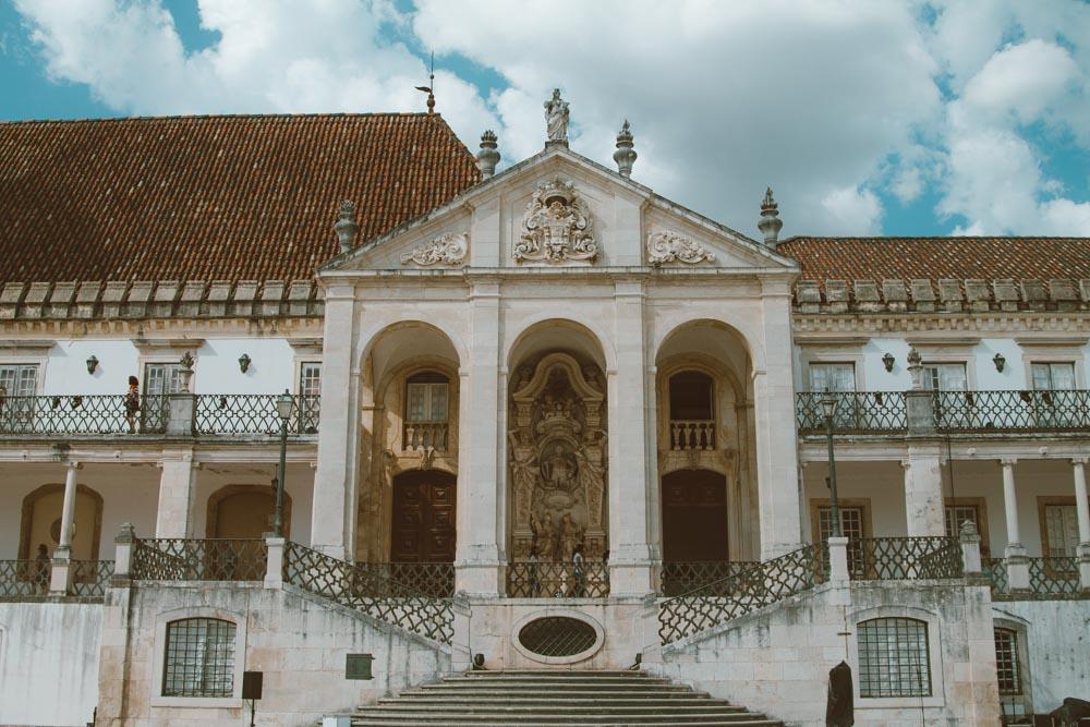 viagem de carro em portugal universidade de coimbra