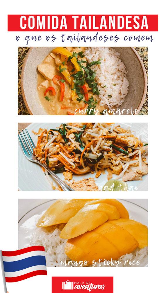 pinterest comida tailandesa
