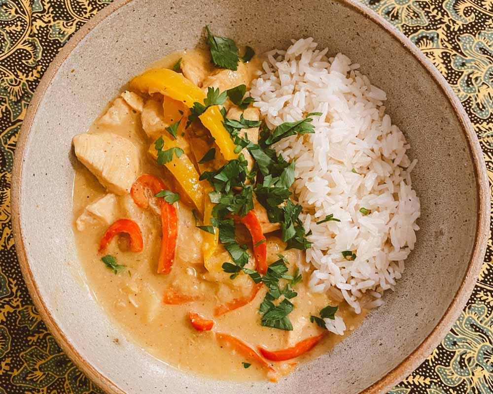 curry tailandês