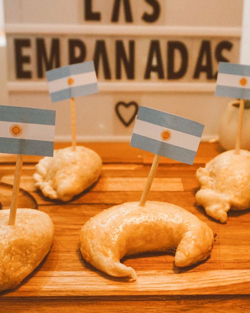 decoração jantar argentino