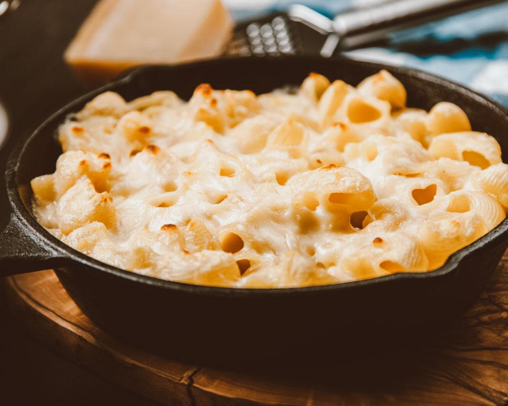 como fazer mac and cheese