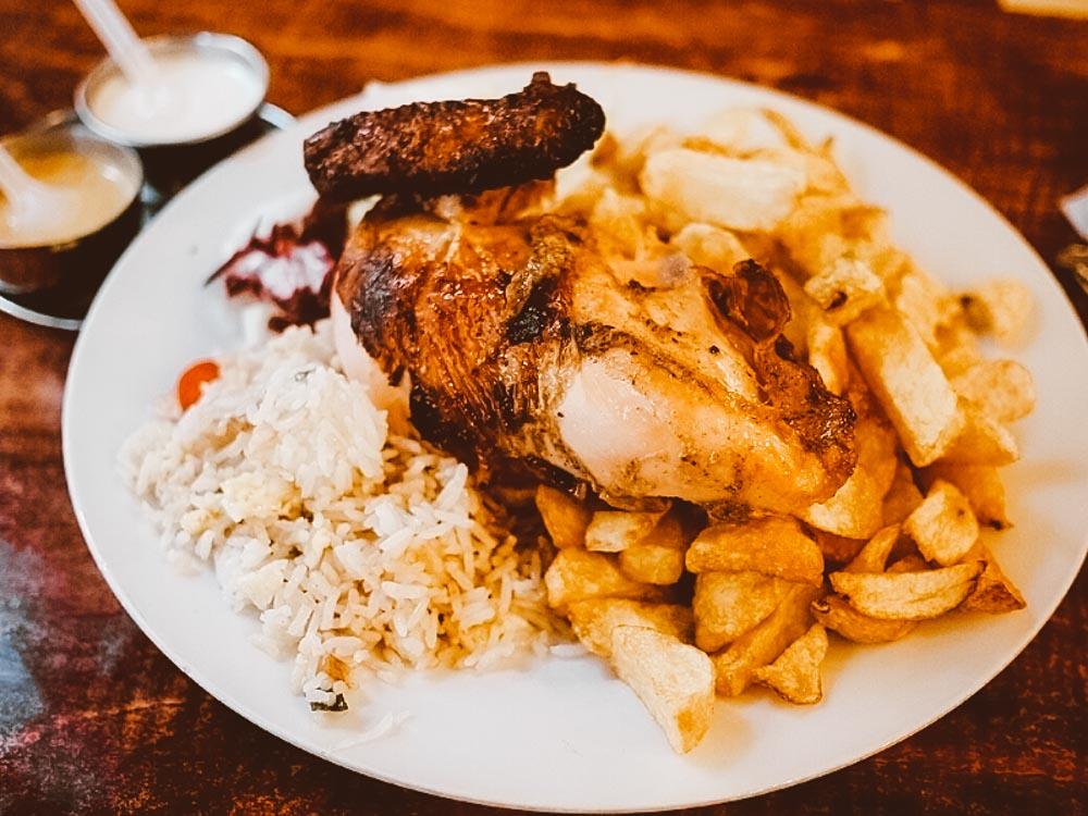 pollo a la brasa comidas peru