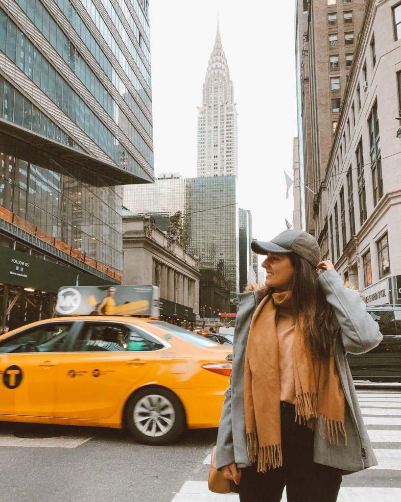 fotos taxi nova york