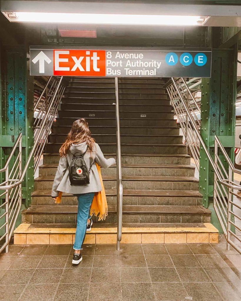 estação metrô nY
