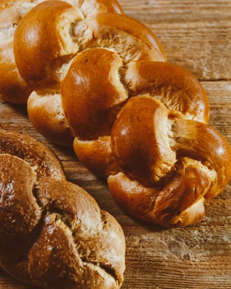 pão suíço Zopf