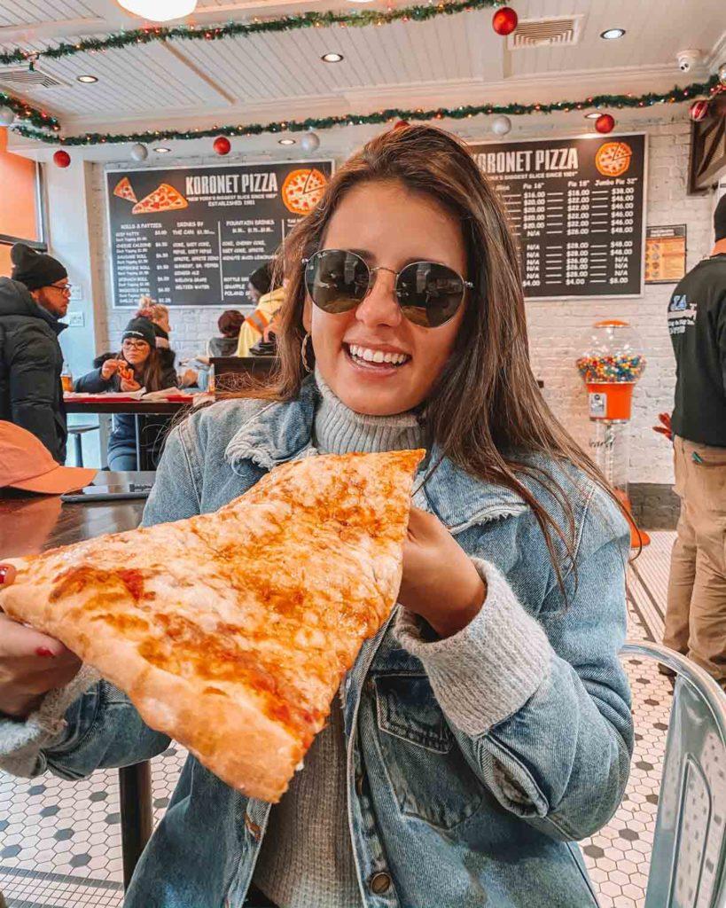 pizzas em ny