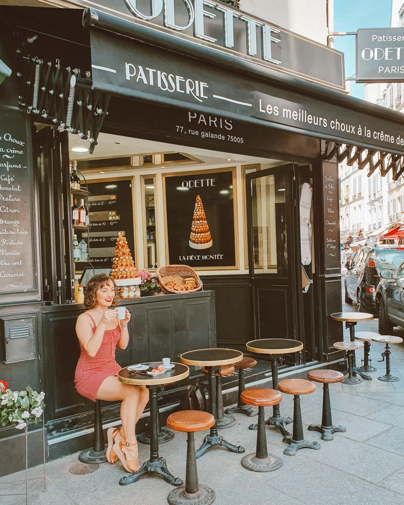 foto cafe em paris