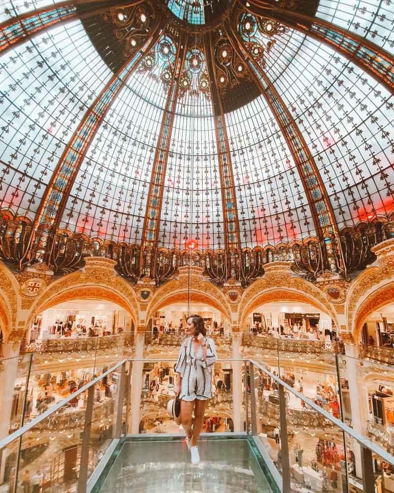 foto galeria lafayette paris
