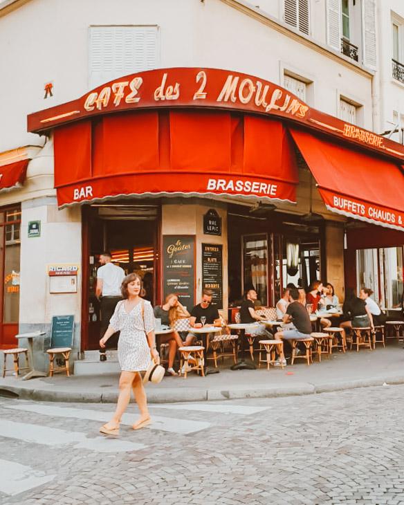 fotos de cafes parisienses