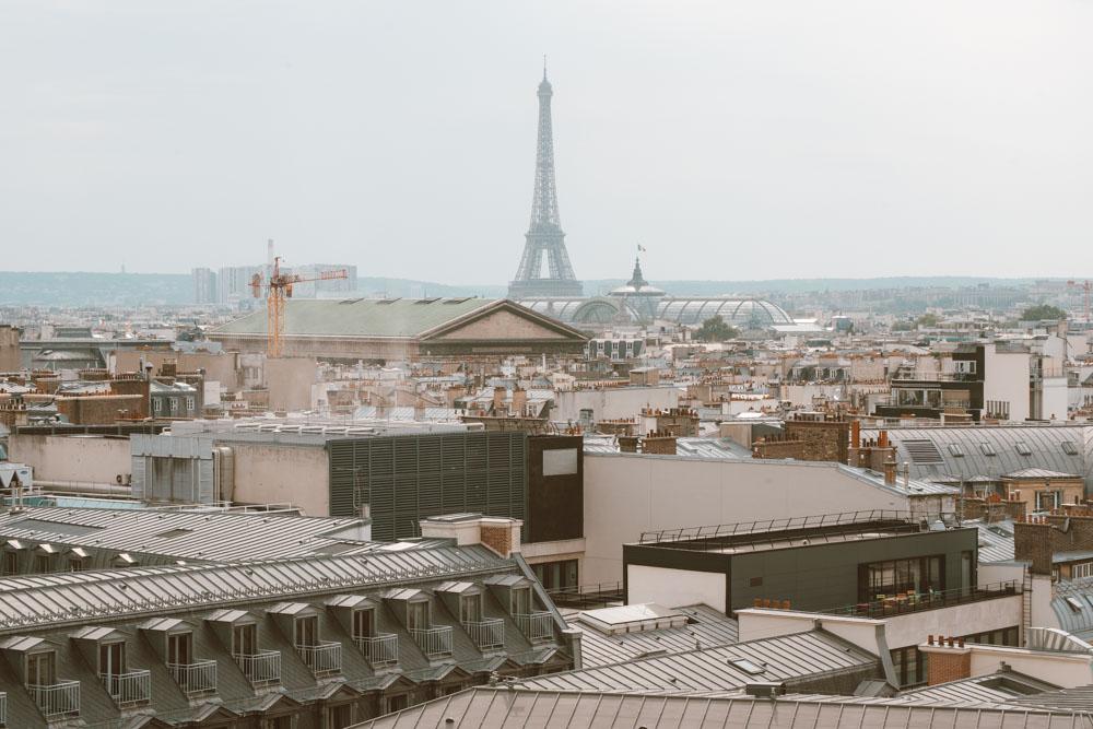 Fotos em Paris: Terraço da Galeria Lafayette