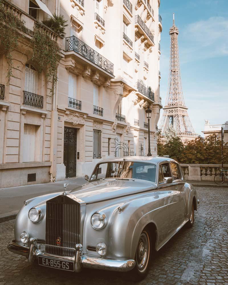 Fotos em Paris: Torre Eiffel