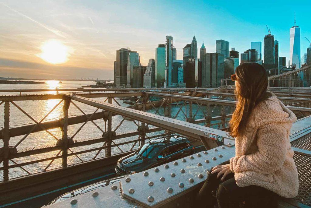 pôr do sol nova york