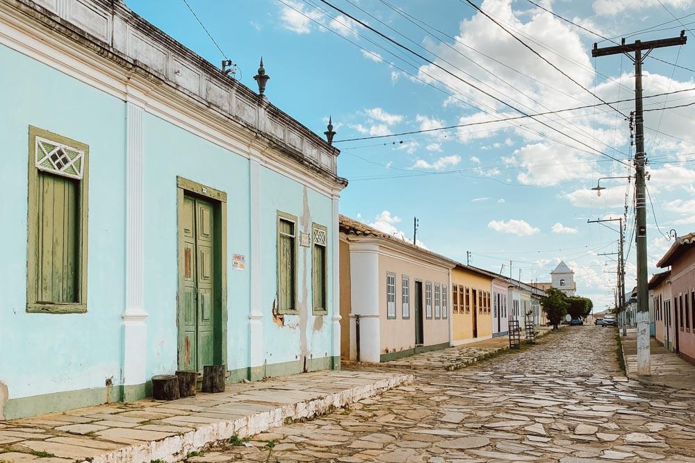 ruas de Rio de Contas, na Bahia